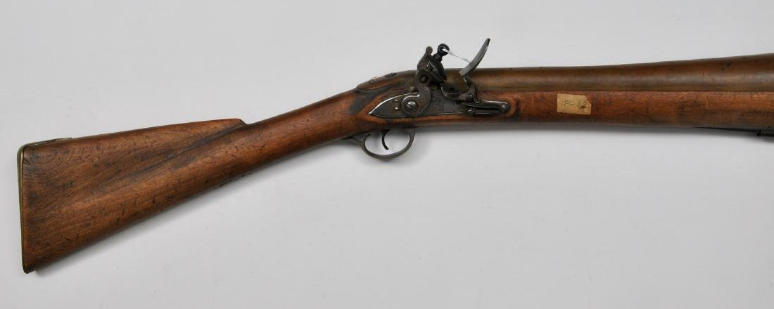 "Brass Barrel Blunderbuss. 34"" overall with a 17-7/8"""
