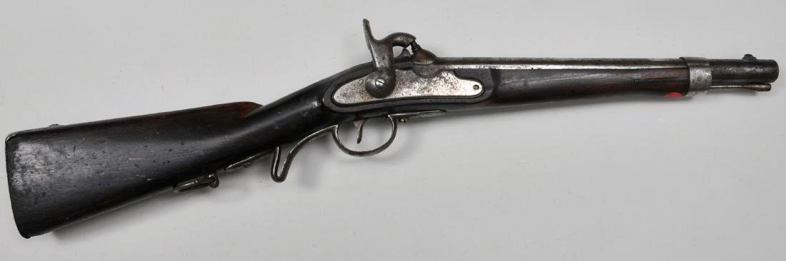 Converted 1842 Austrian saddle ring carbine. These