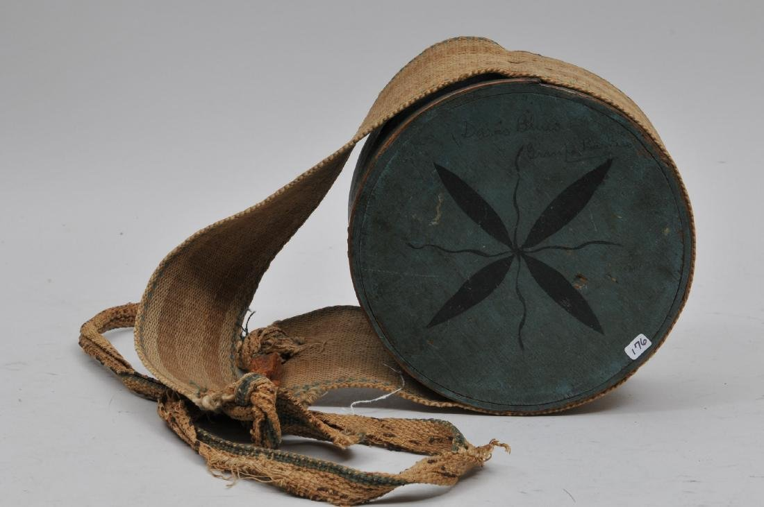 Important 18th century Cheesebox Canteen believed to be