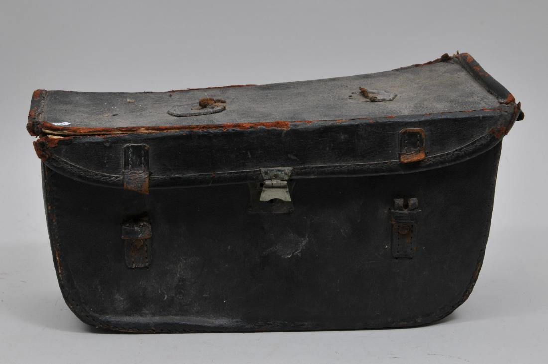 19th Century Coffin Style Cornet Case. Appears to store