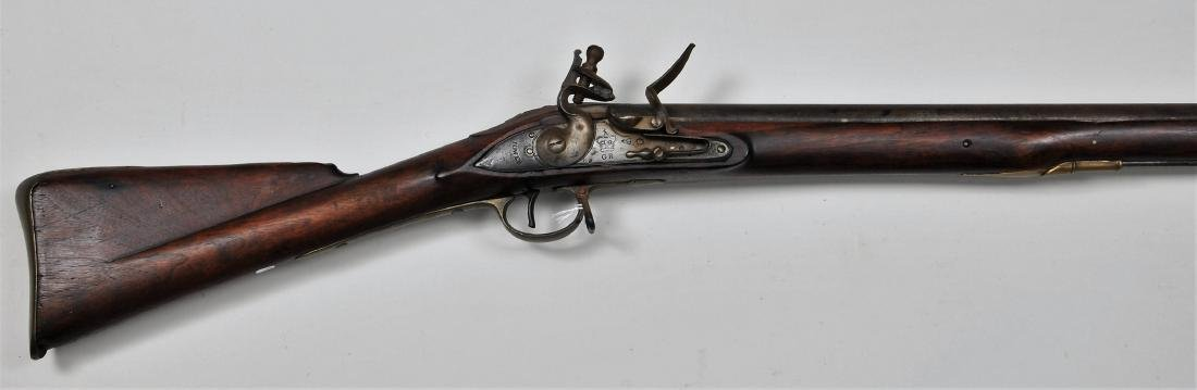 "Brown Bess early 3rd model pattern musket. 55-1/4"""