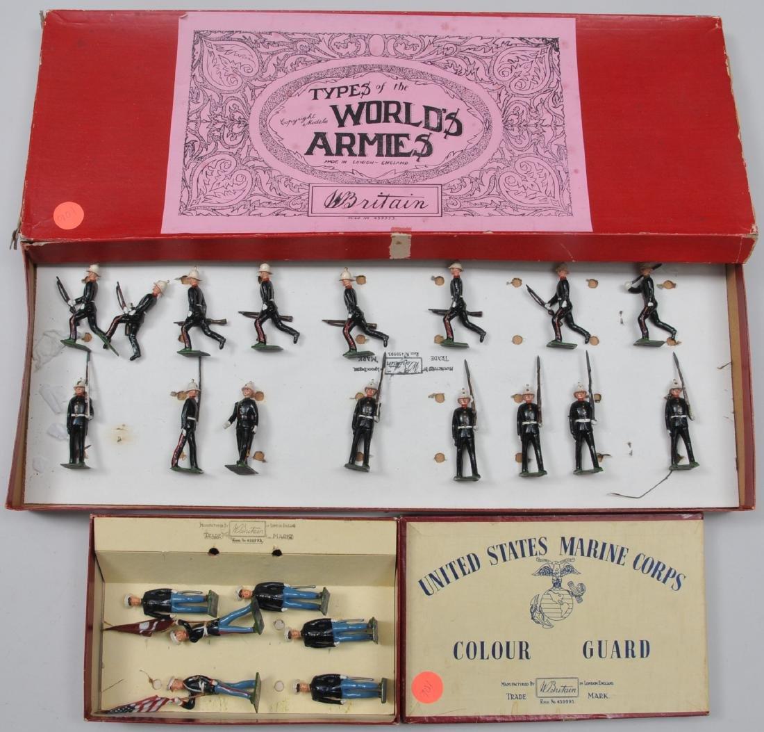 Britain's Royal Marines Boxed Set. #1284. U.S. Marine