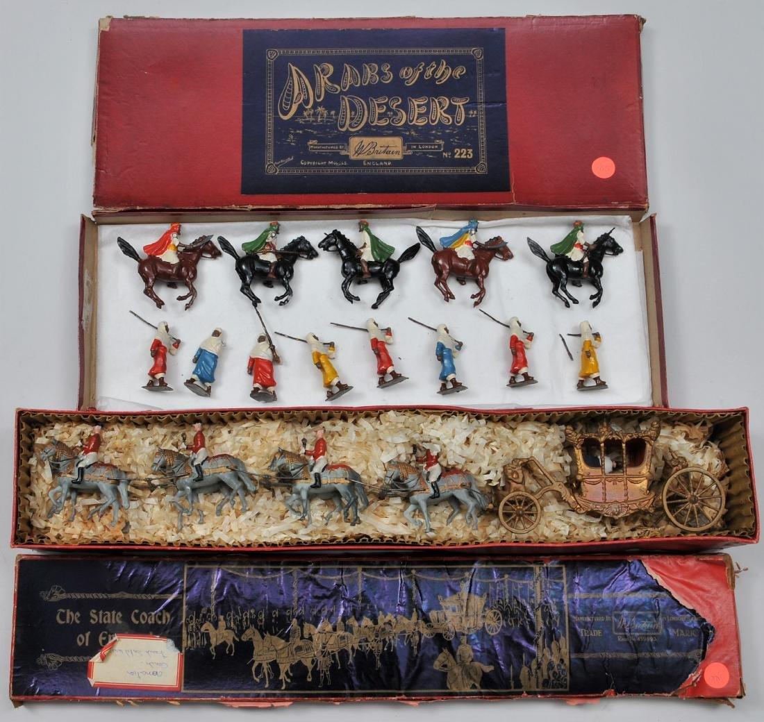 Britain's King George Coronation Coach in original box.