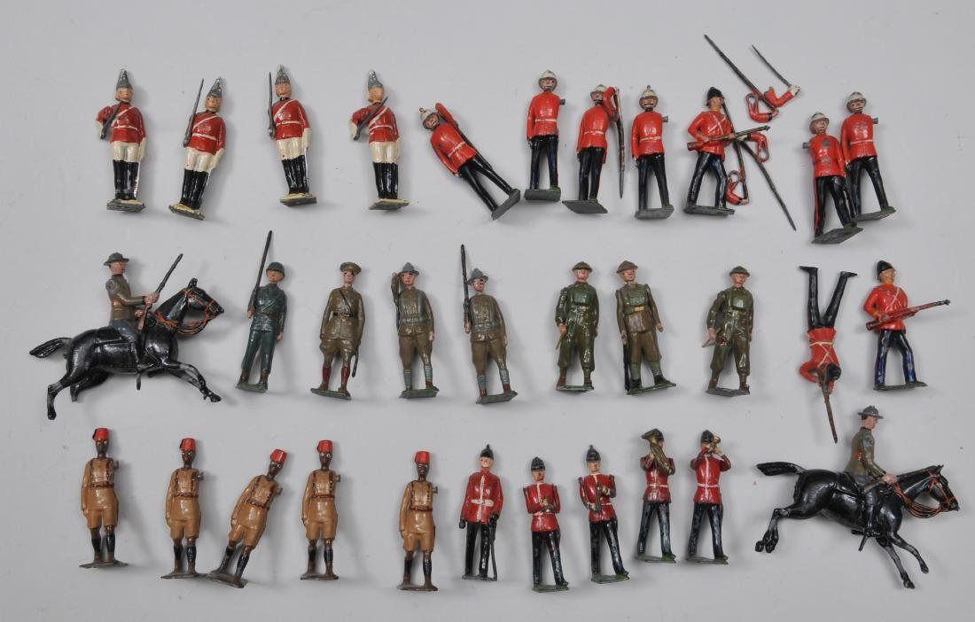 Large lot of miscellaneous Britain's, Oder vintage.