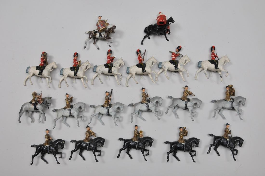 Britain's, Set #101. Mounted Band of Life Guards, 12