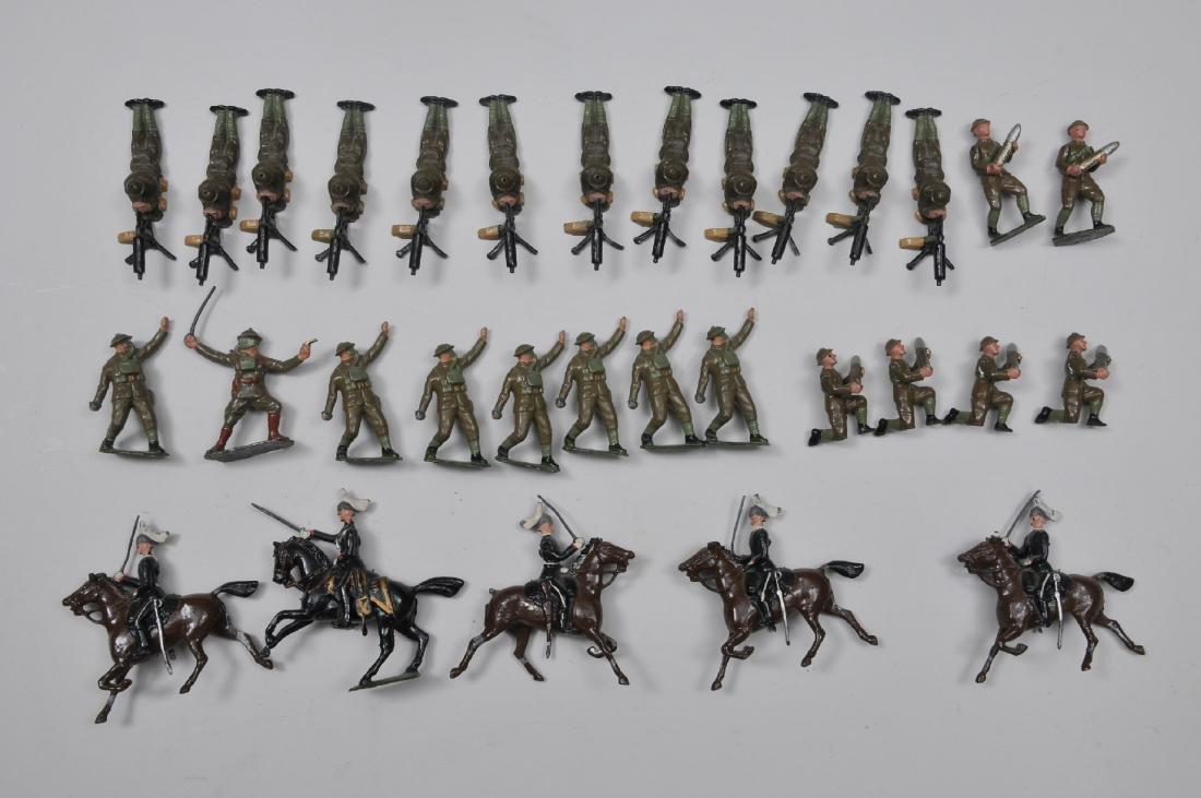 Britain's. Prone Machine Gunners, 12 pieces. Set #1631,