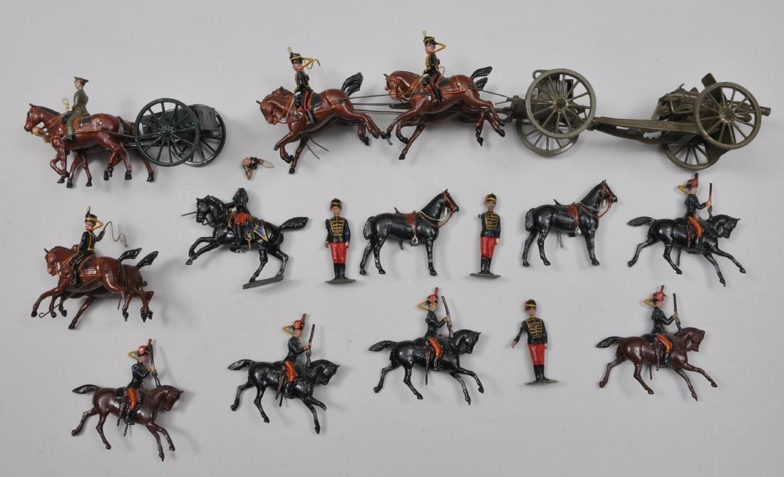 Britain's, Set #12 11th Hussars, 6 pieces. Hussars