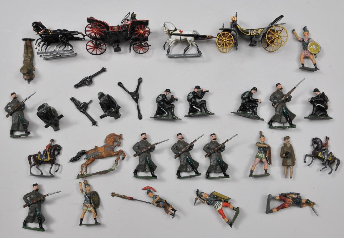 Lot of miscellaneous Lead Soldier figures.