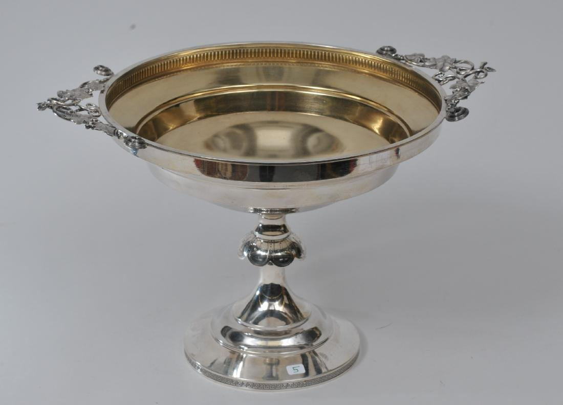 Wood and Hughes Sterling Silver Aesthetic style compote