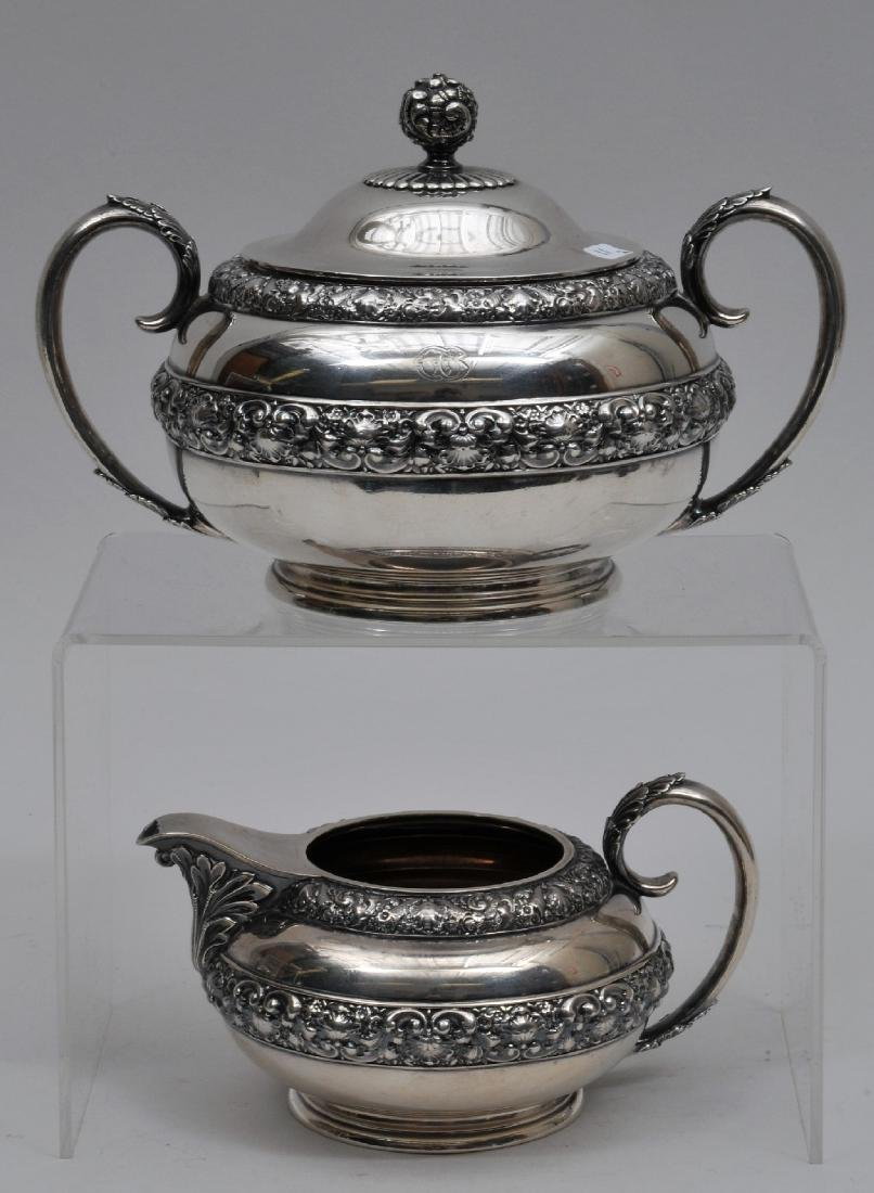 Tiffany & Co. makers Sterling Silver creamer and