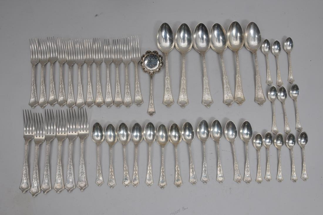 Tiffany & Company Makers Sterling Silver 48 piece