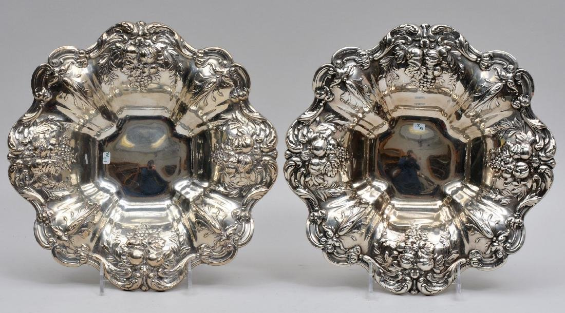 Pair of Reed & Barton Francis I Sterling Silver serving