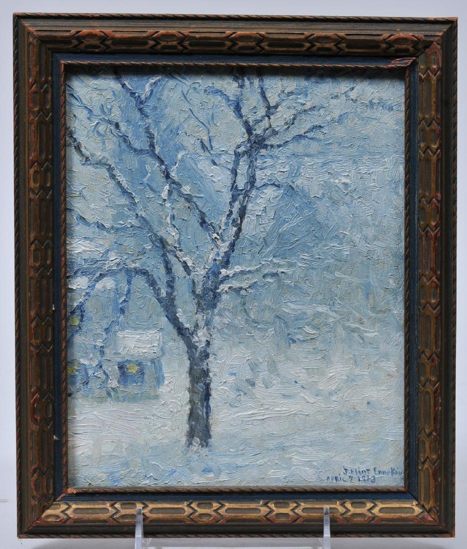 Joseph Eliot Enneking. 1913. Small winter landscape