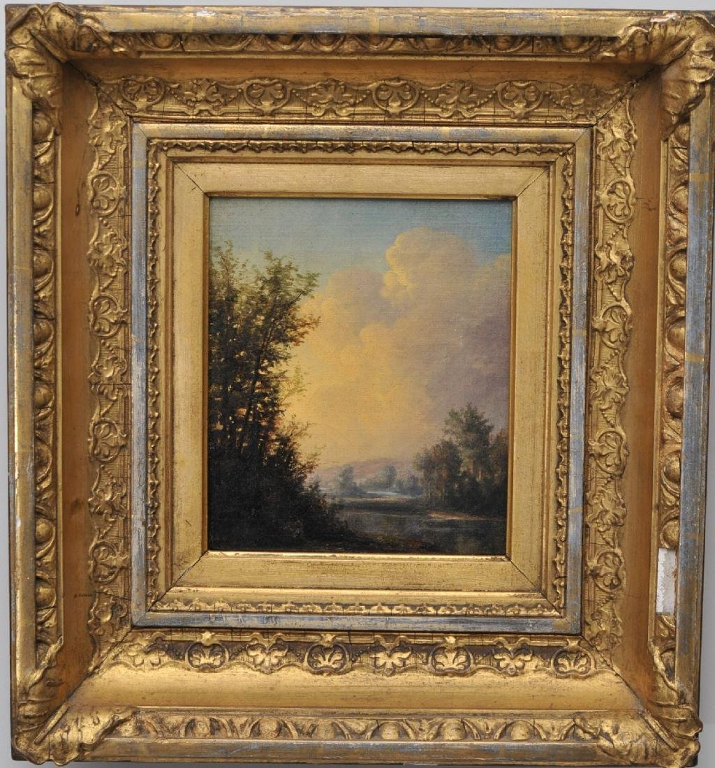 19th century American Hudson River School painting.