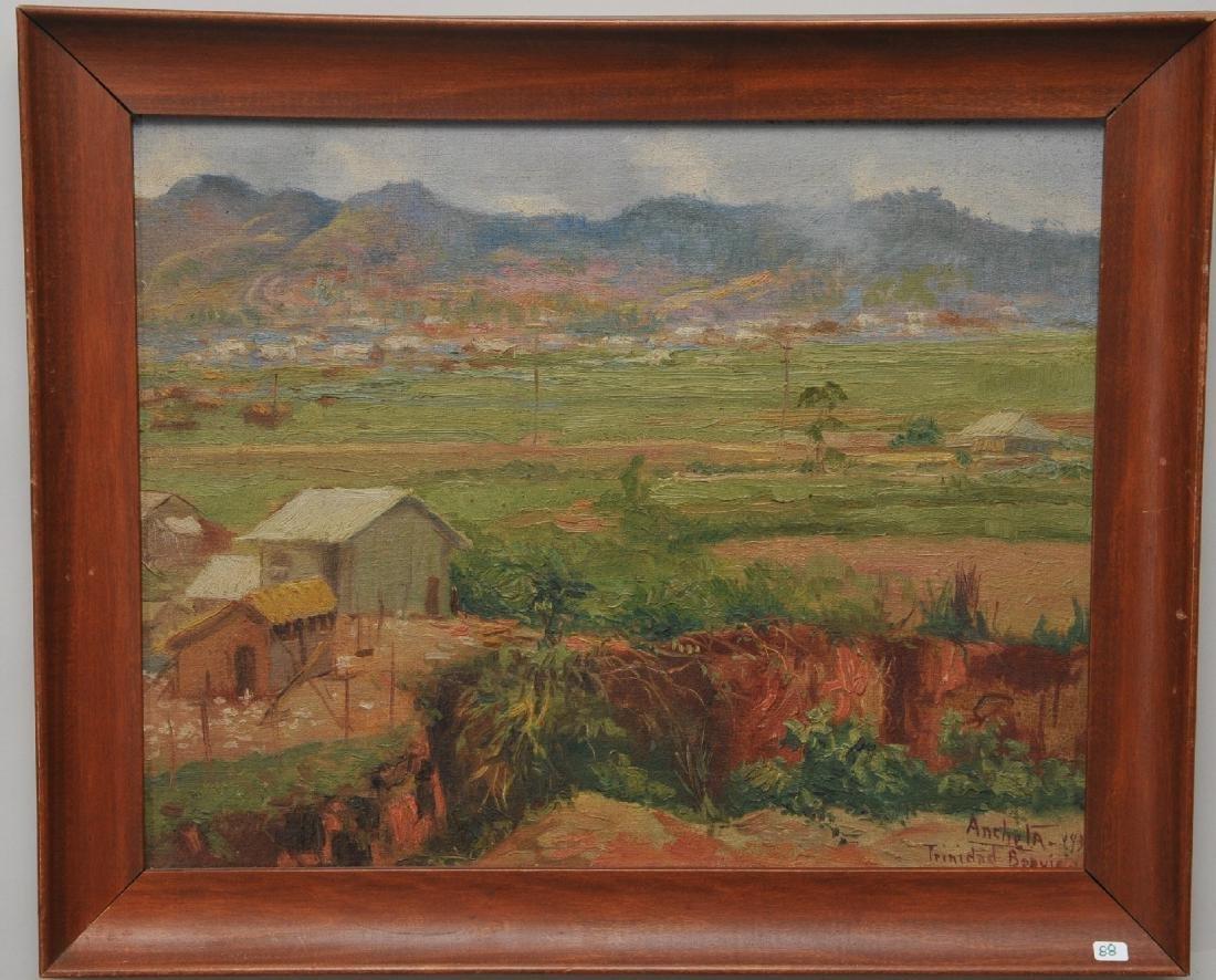 "Isidro Ancheta. Philippines. ""Trinidad"" Landscape."