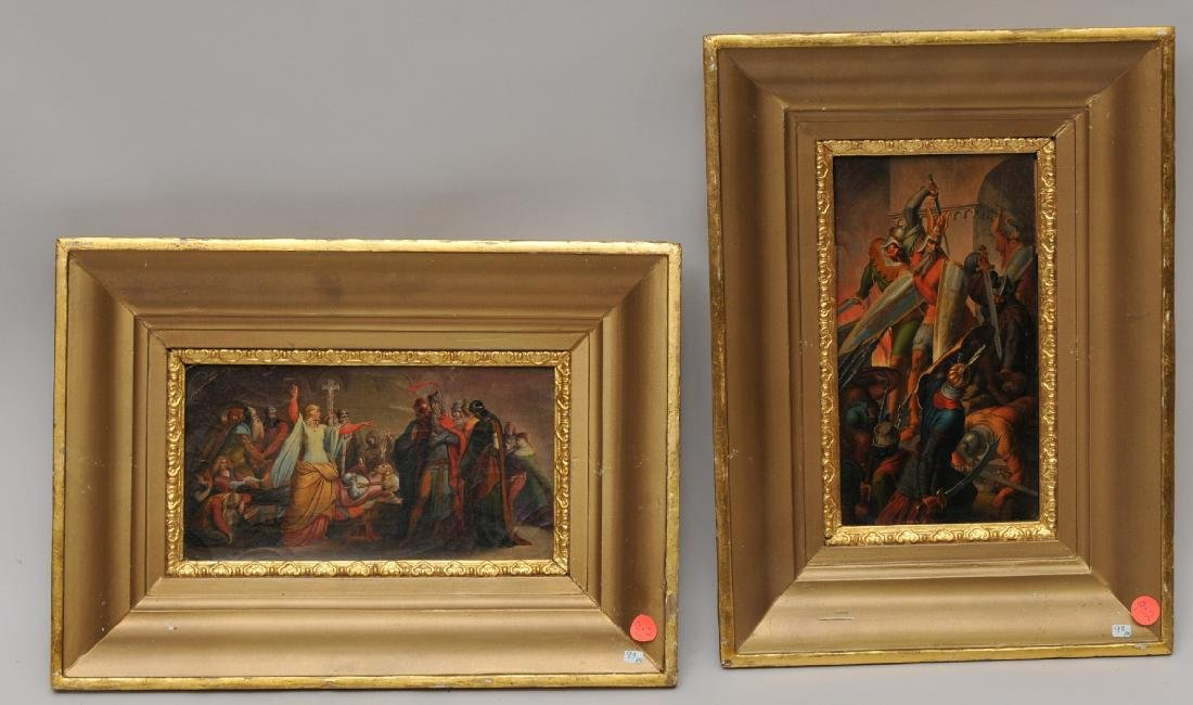 Pair of 19th century Austrian or Russian Historical