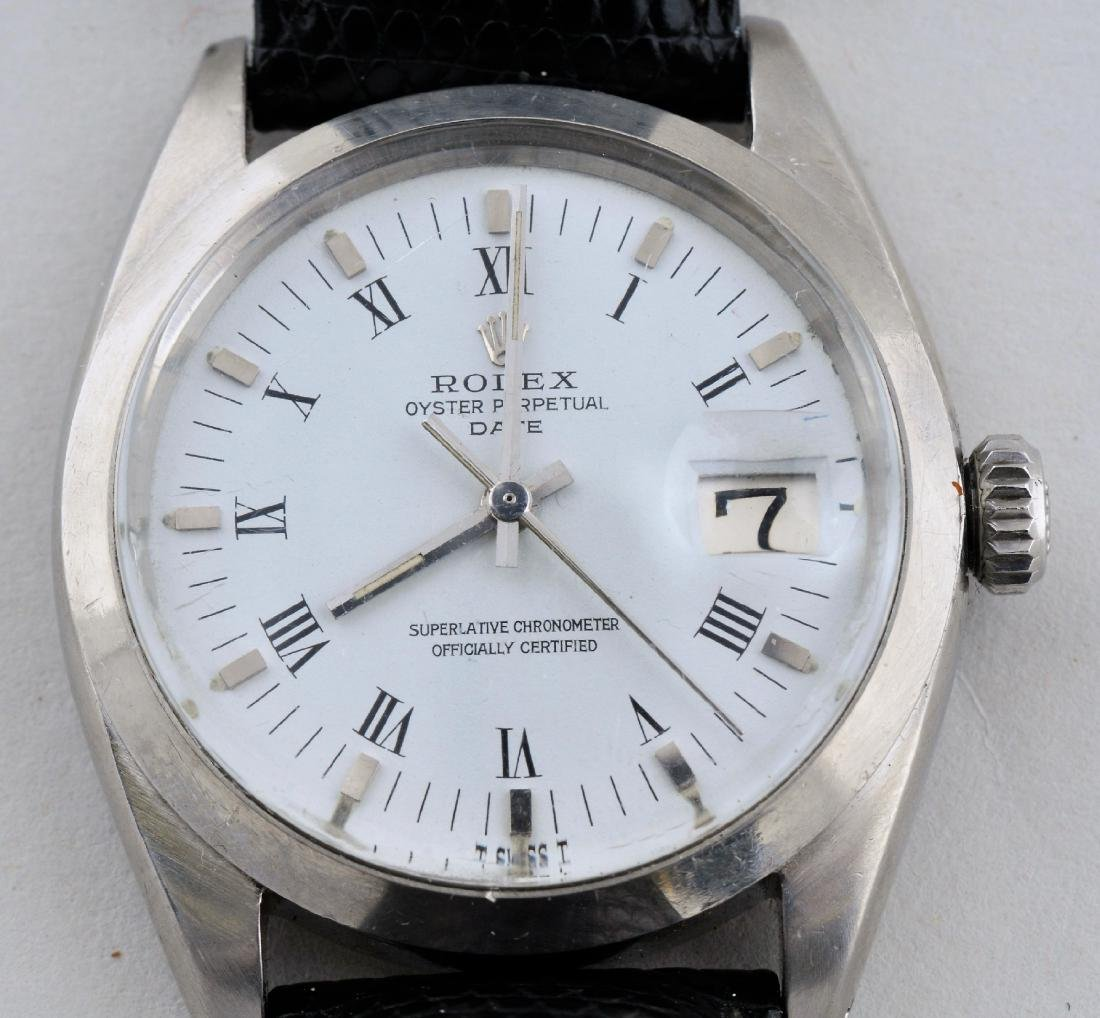 Rolex (White Dial) Ref. 1500 in Stainless Steel Oyster