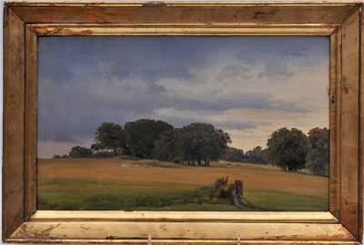 Christen Kobke. Important Danish Artist. 1848. Fine