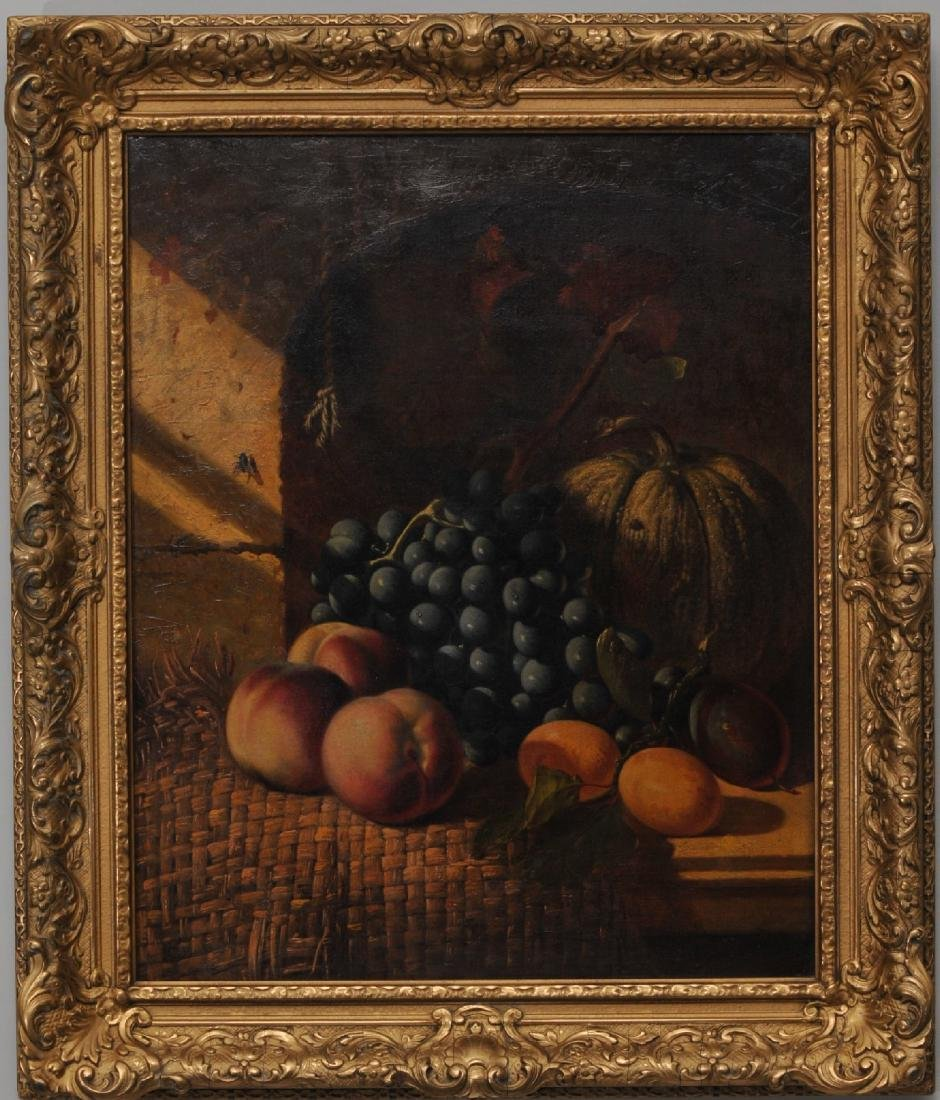 Charles Thomas Bale. English Fruit Still Life on a