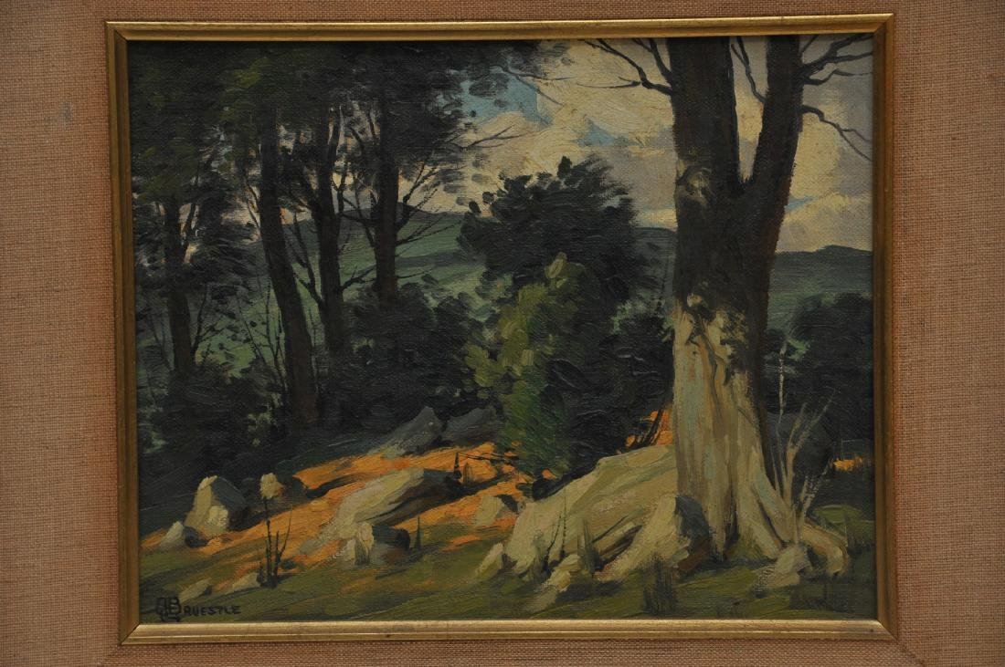 Bertram George Bruestle. Spring time landscape - 2