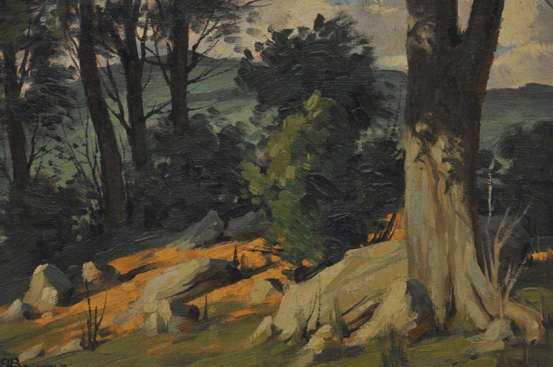 Bertram George Bruestle. Spring time landscape - 3
