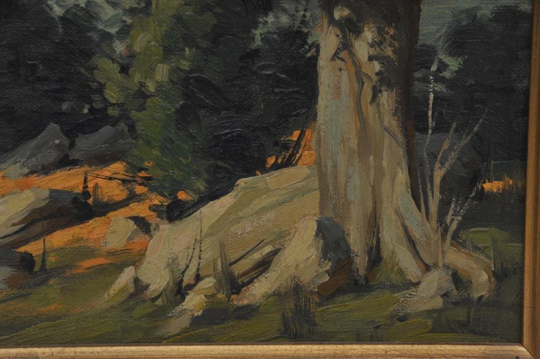 Bertram George Bruestle. Spring time landscape - 6
