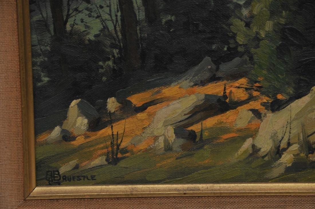 Bertram George Bruestle. Spring time landscape - 7