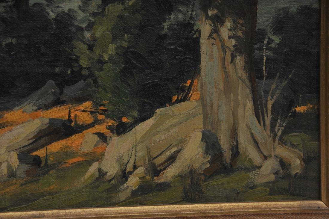Bertram George Bruestle. Spring time landscape - 8