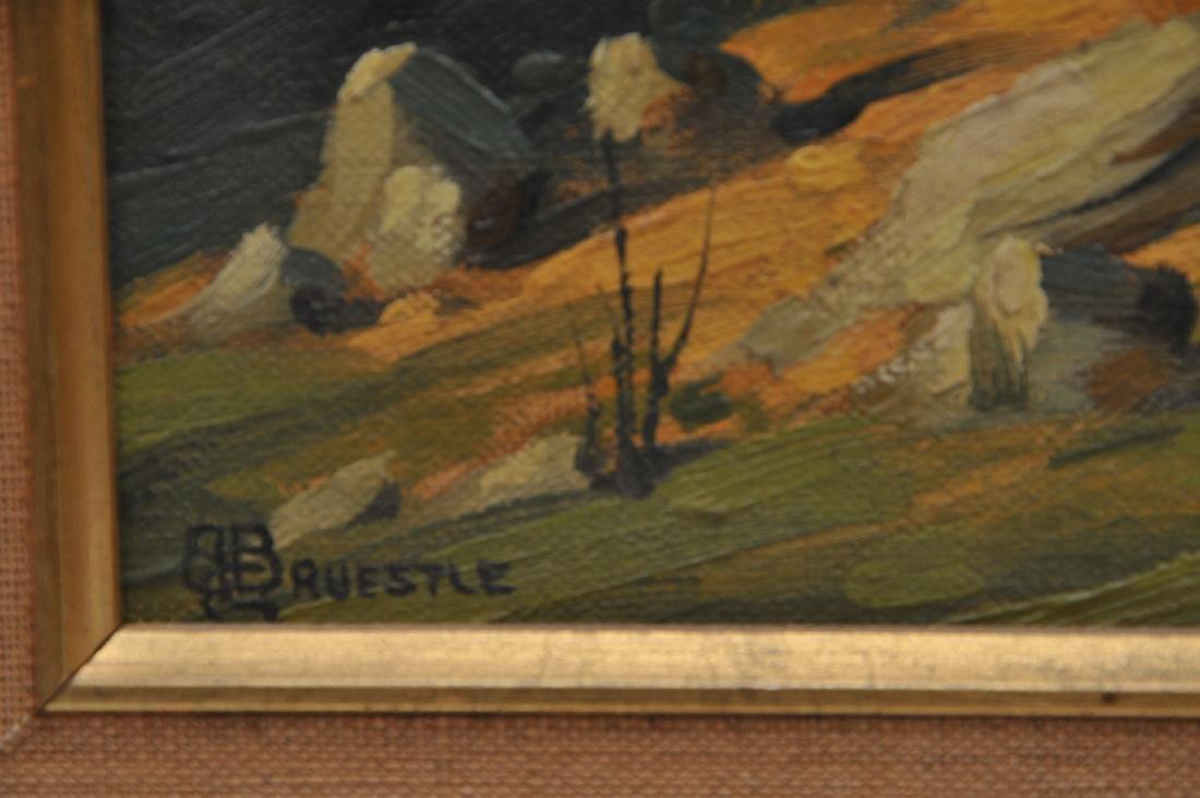 Bertram George Bruestle. Spring time landscape - 9