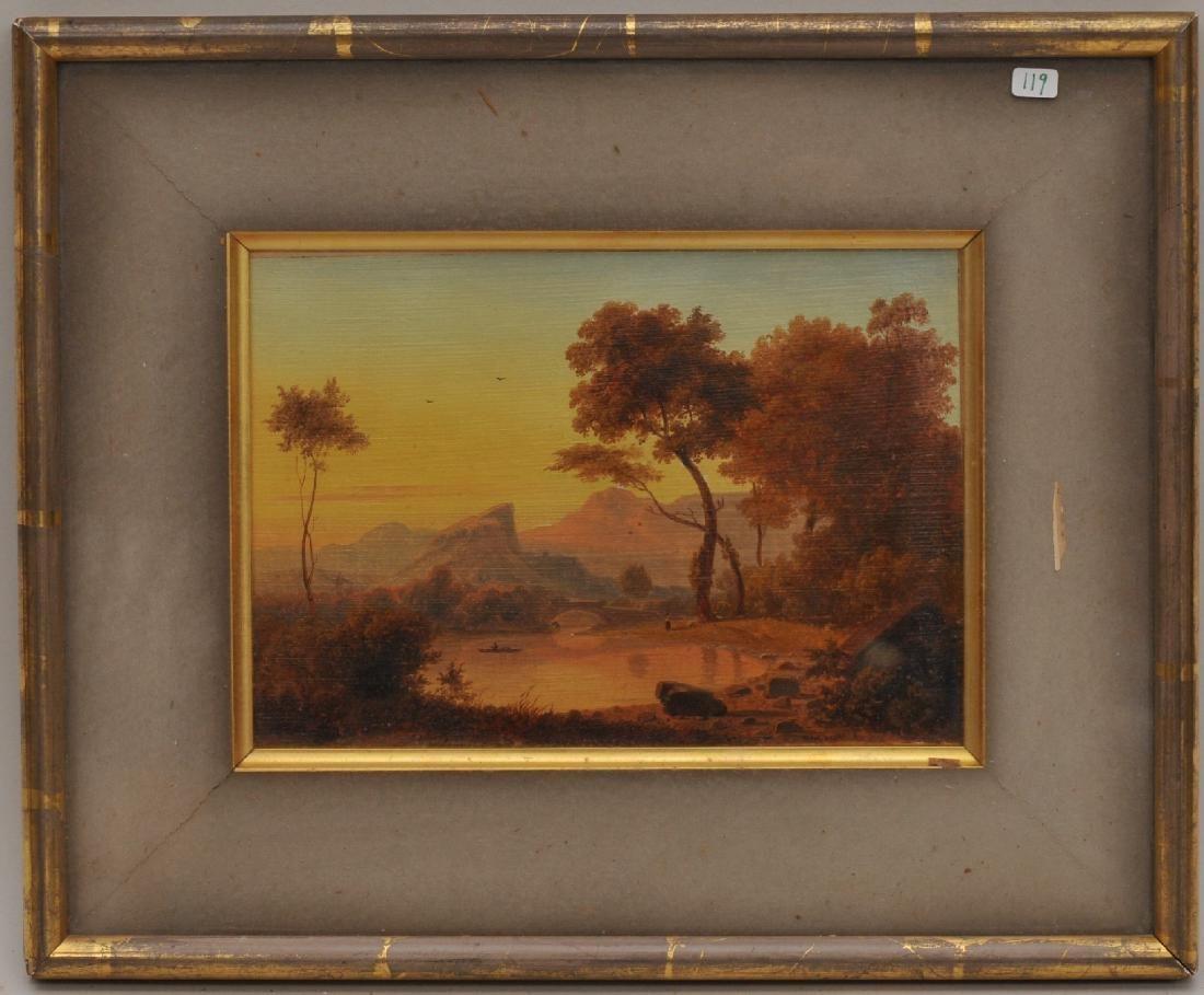 Carl Birckenstadt, Fine quality Mid 19th C. Landscape