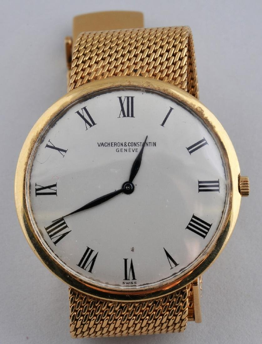 "18 karat yellow gold Vacheron and Constantin ""Slim"