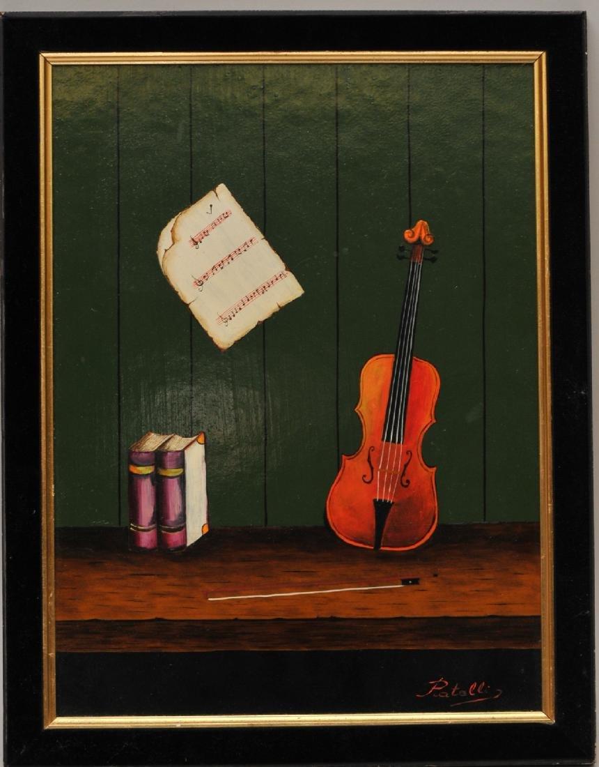 Patelli. Trompe de L'Oeil style. 20th century still
