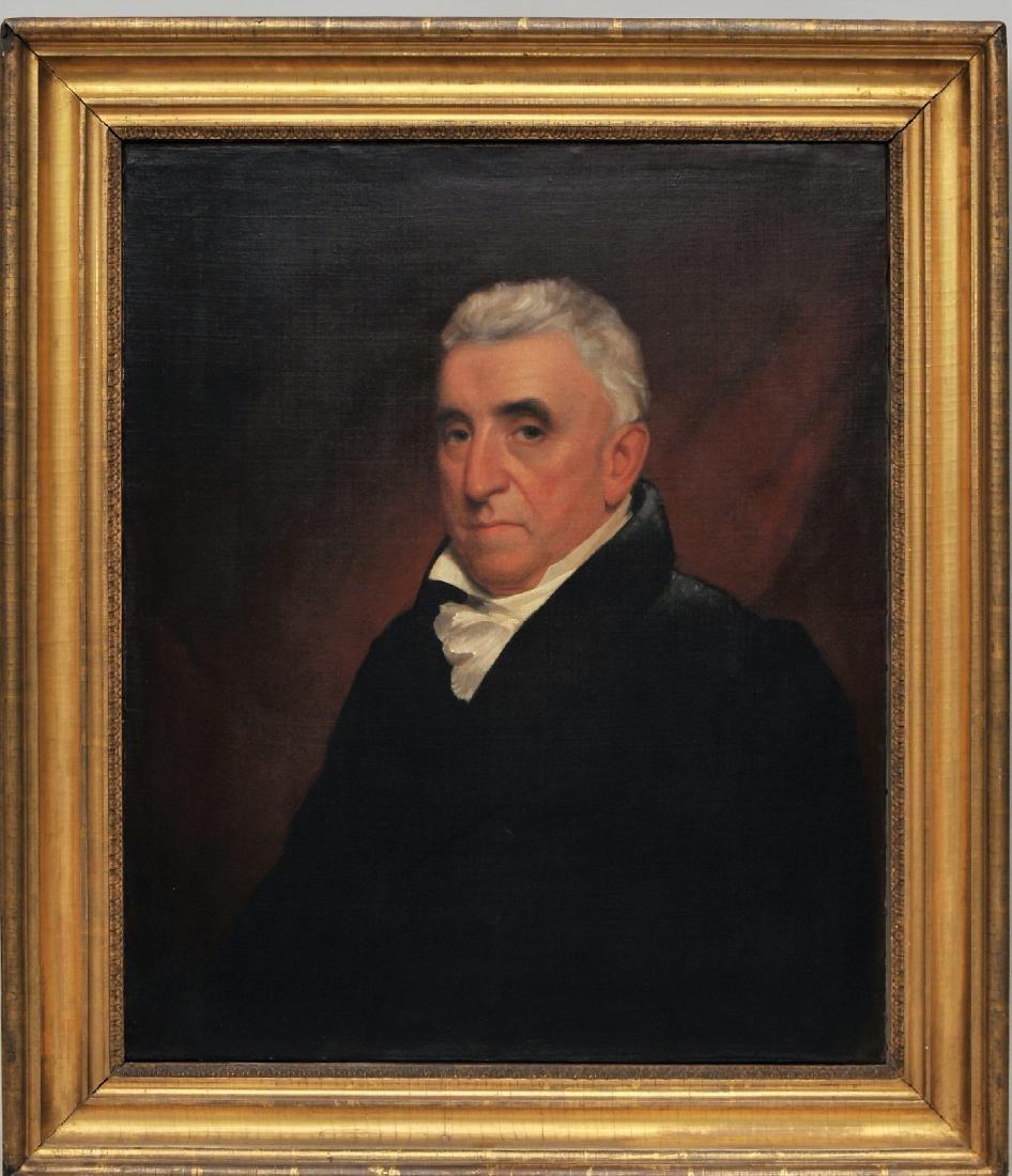 Nathaniel Jocelyn. Early American portrait of a man.