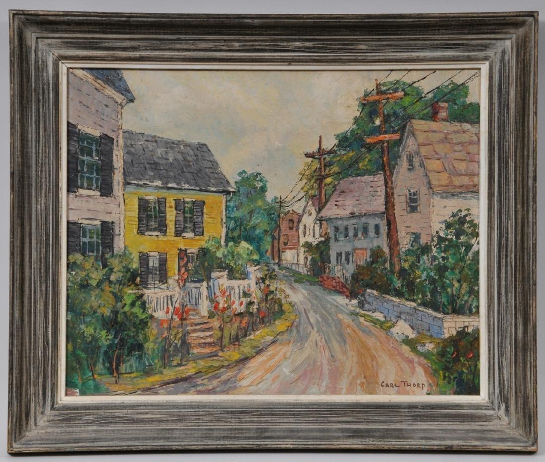 "Carl Thorp. ""Marblehead Mass"". 1960 Main Street"