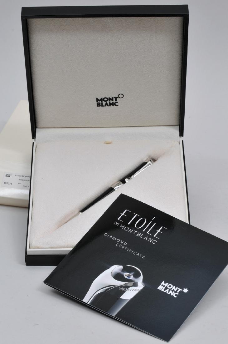Etoile Mont Blanc Diamond ball point pen in original