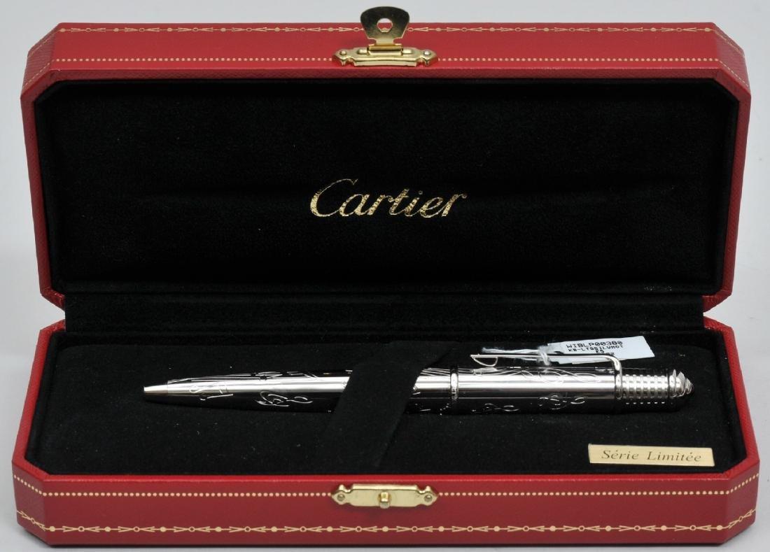 Cartier ball point ben. Serie Limitee. In mint new