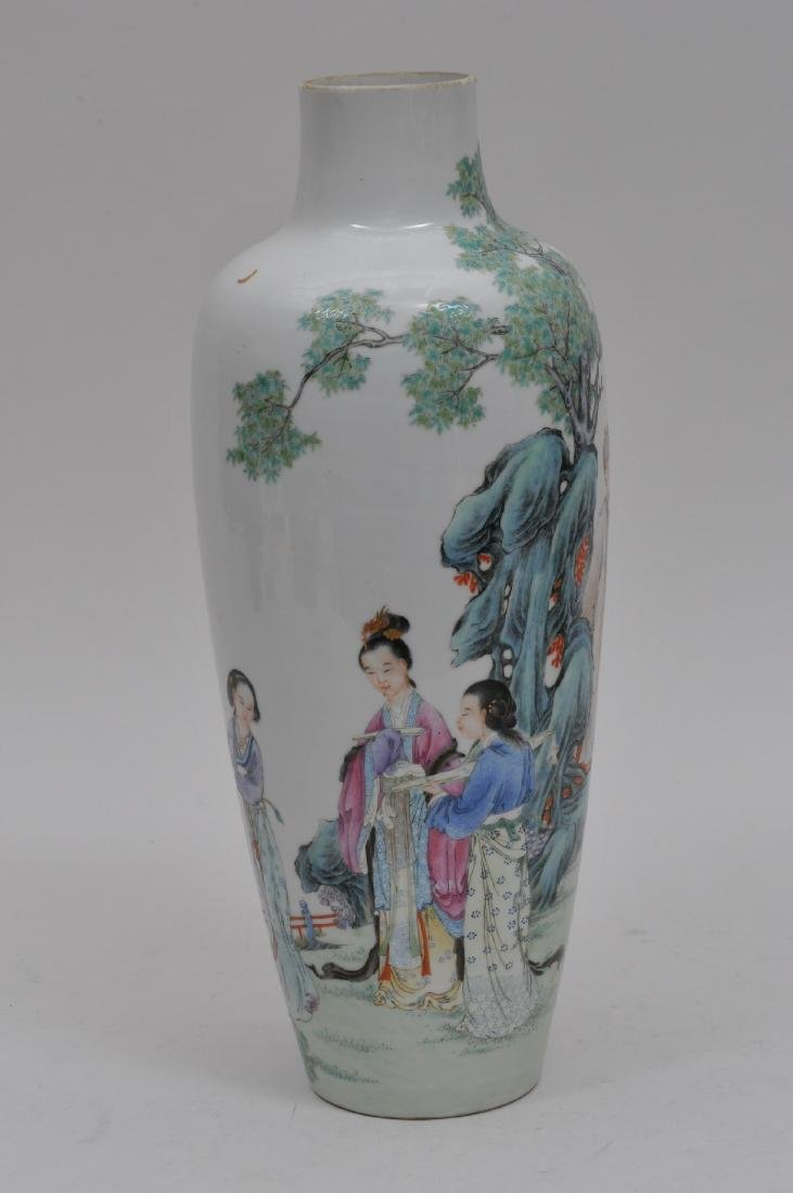 Porcelain vase. China. Republic period. Early 20th - 3
