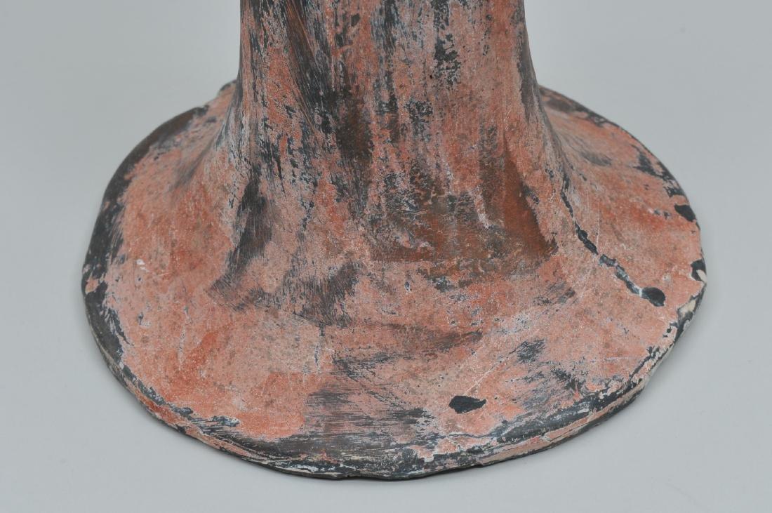 Terracotta tomb figure of a female servant. Han style. - 7