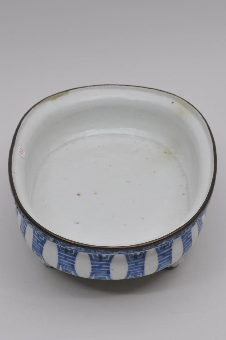 Porcelain planter. Chinese Export ware for the South - 4