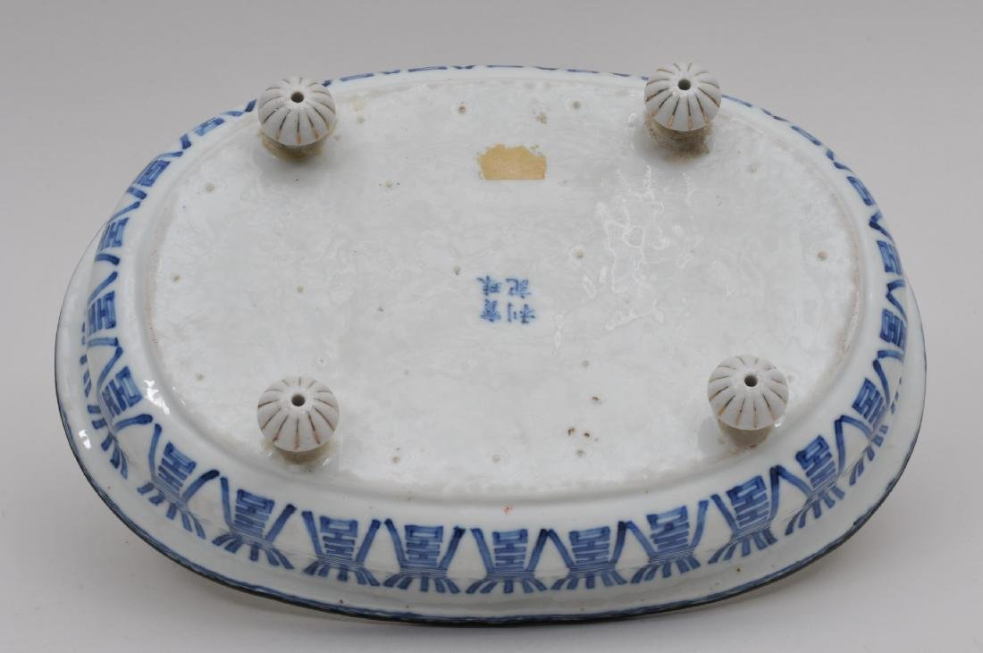 Porcelain planter. Chinese Export ware for the South - 6