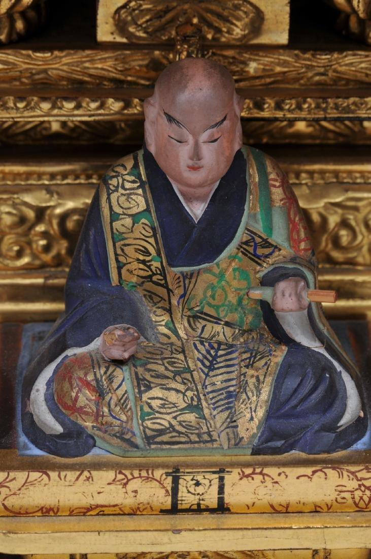 Traveling shrine. Japan. Early 20th century. Interior - 3
