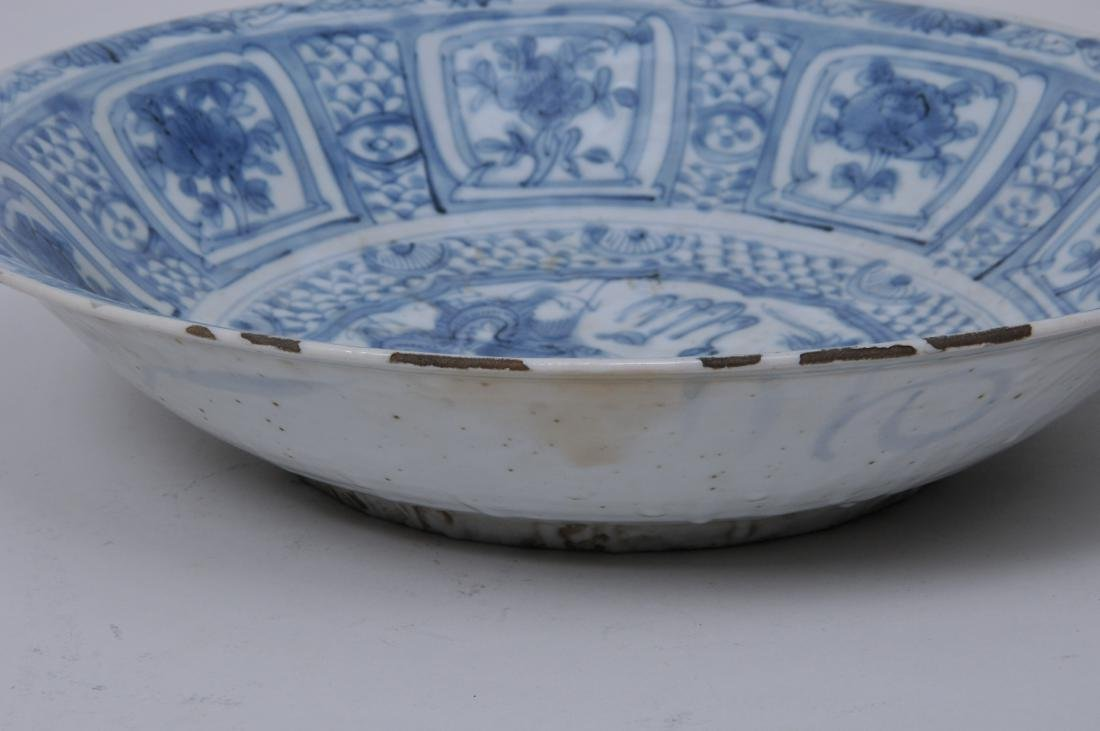 Porcelain charger. China. 17th century Transitional - 7