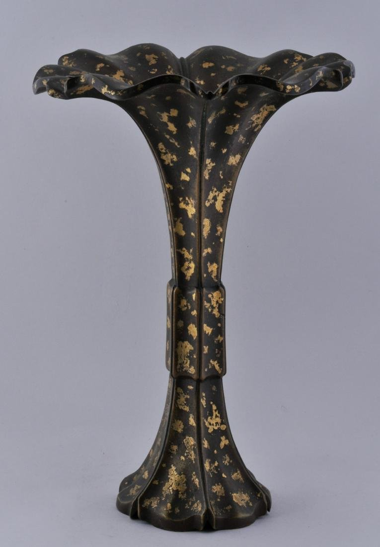 Bronze vase. China. 18th century, Ch'ien Lung period.