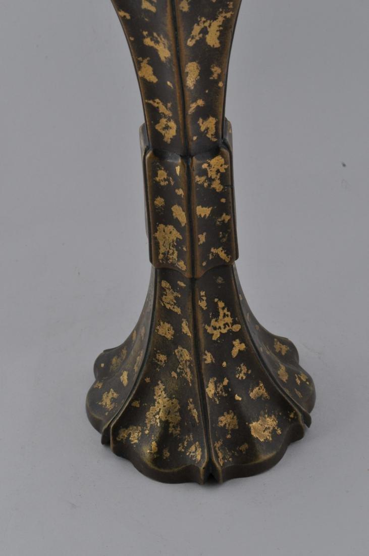 Bronze vase. China. 18th century, Ch'ien Lung period. - 3