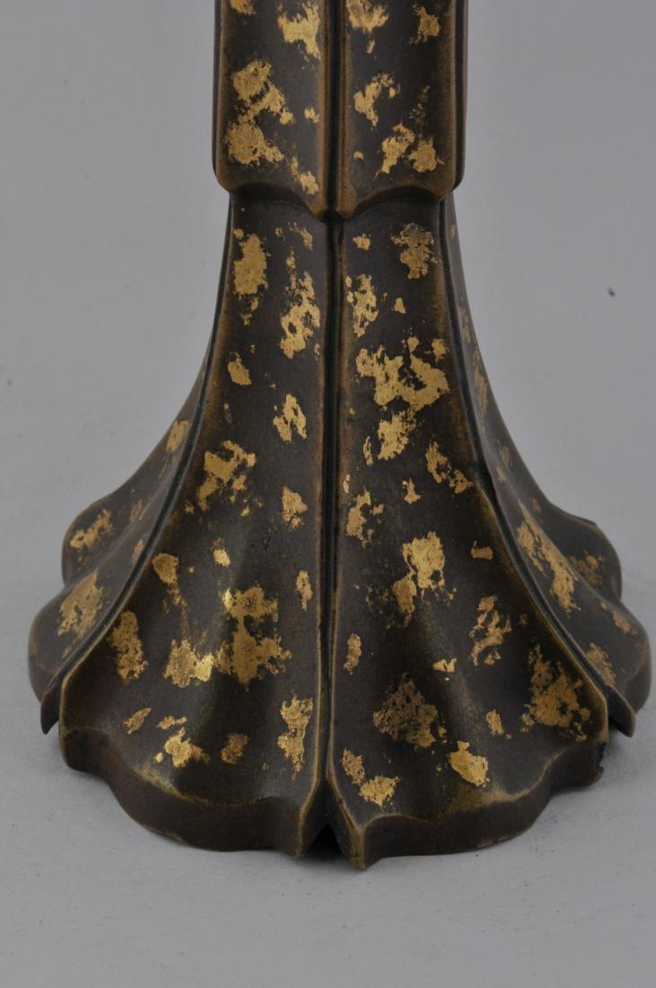 Bronze vase. China. 18th century, Ch'ien Lung period. - 5