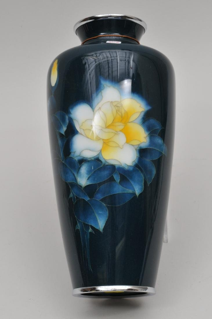 Cloisonné vase. Japan. First half of the 20th century.