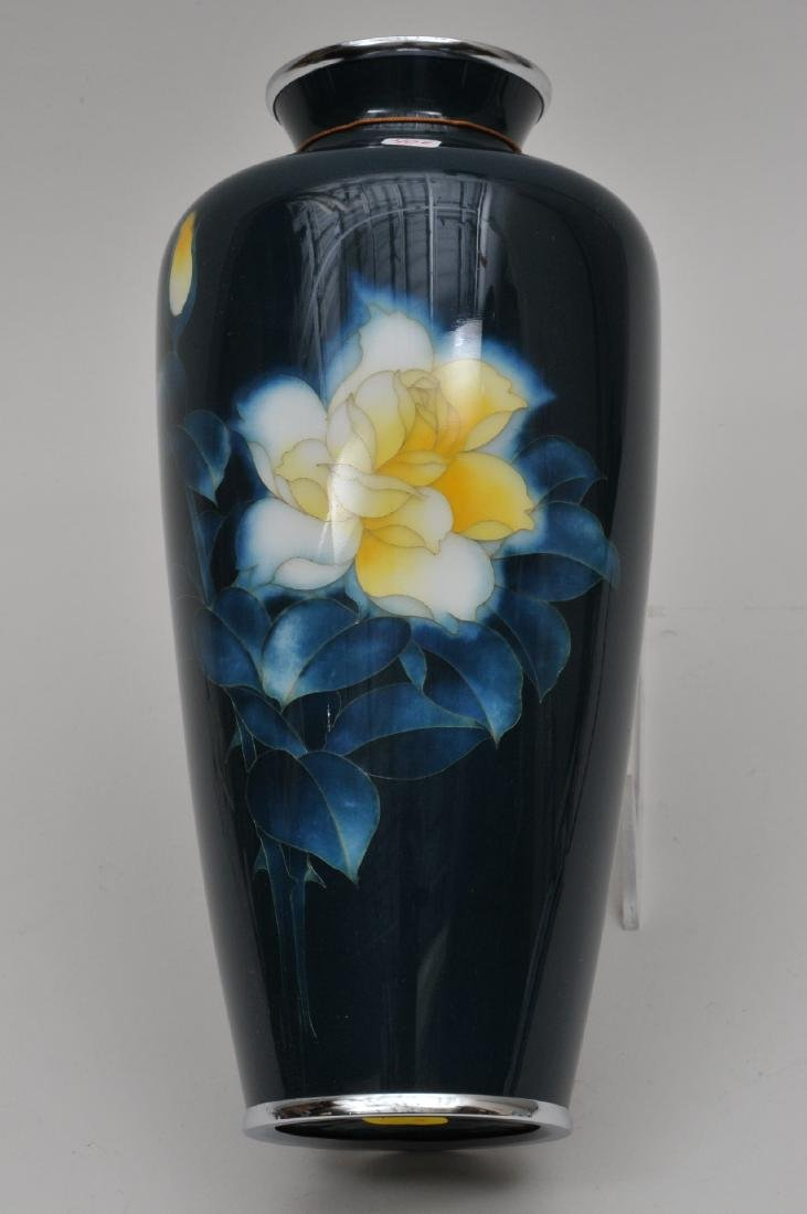 Cloisonné vase. Japan. First half of the 20th century. - 2