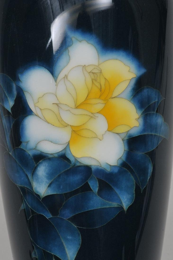 Cloisonné vase. Japan. First half of the 20th century. - 3