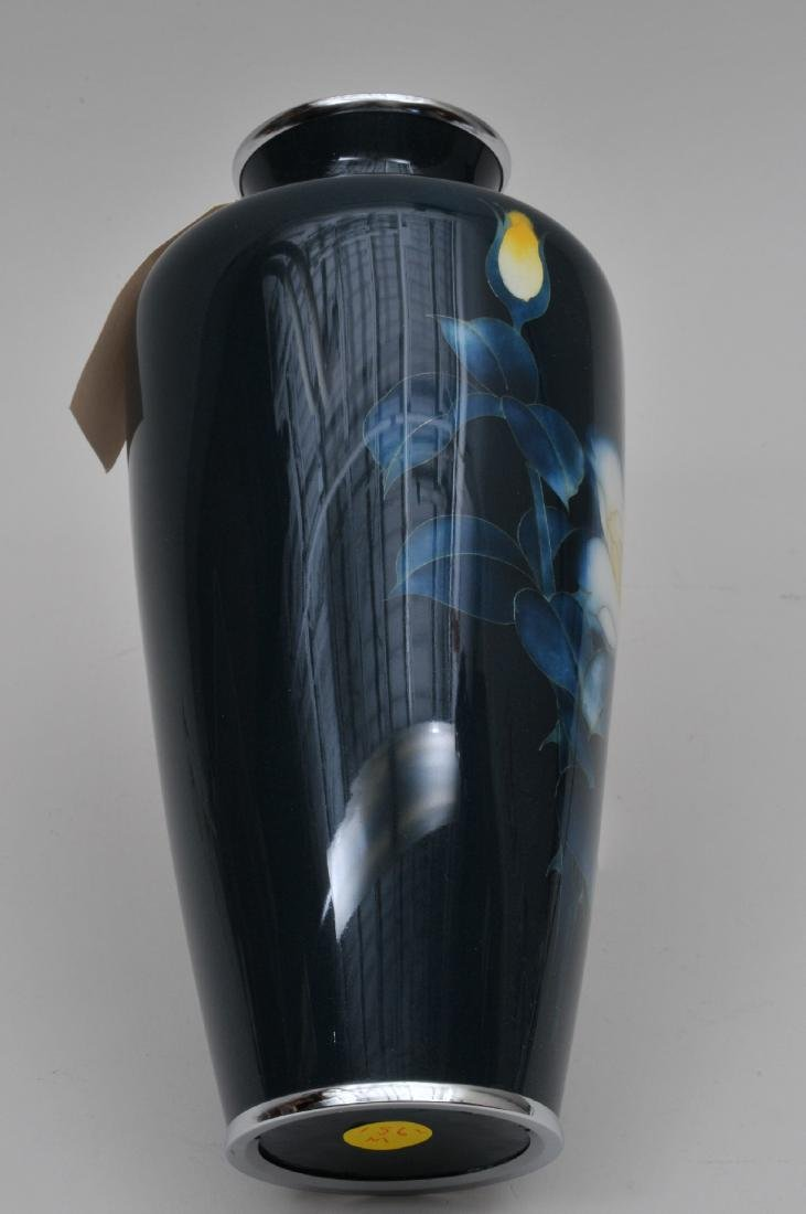 Cloisonné vase. Japan. First half of the 20th century. - 4