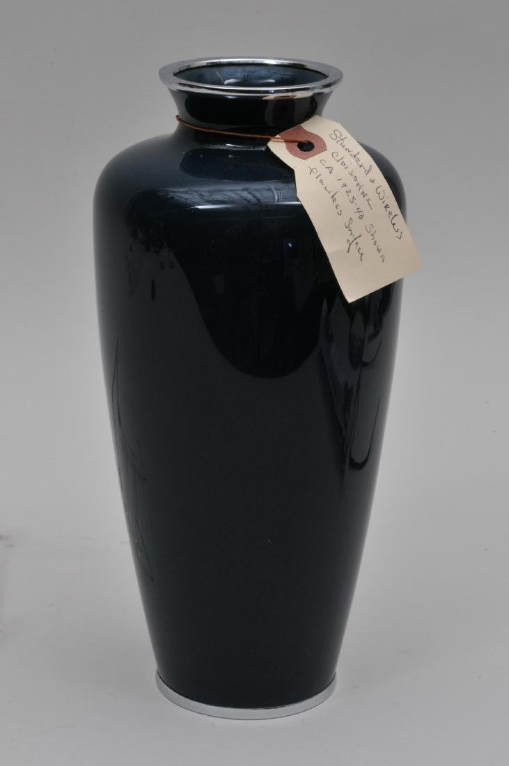 Cloisonné vase. Japan. First half of the 20th century. - 5